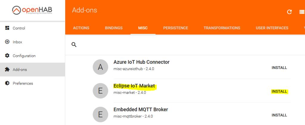 Eclipse IoT market